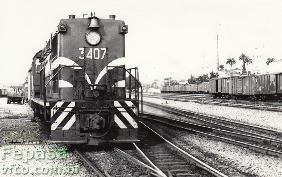 Locomotiva Baldwin AS616 nº 3407