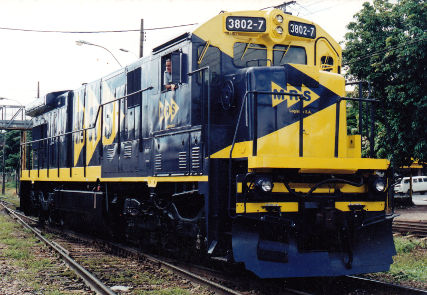 Locomotiva C36ME MRS