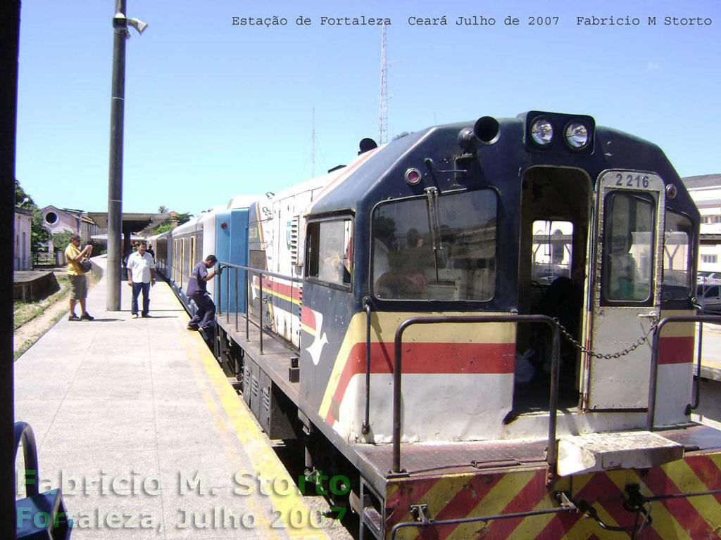 Locomotiva U10B do trem urbano CBTU - Metrofor