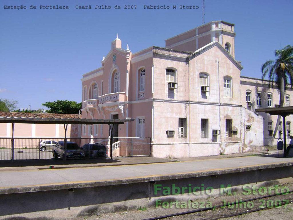 Estação ferroviária Professor João Felipe - Fortaleza   antiga Rede ... 310a468e81