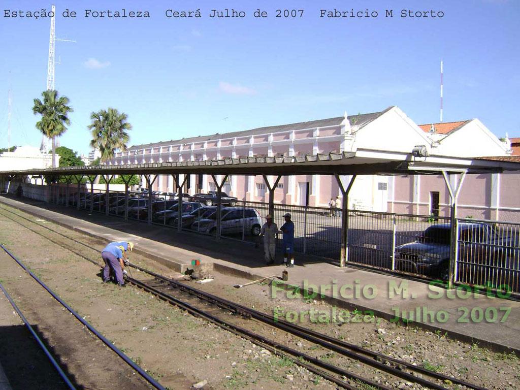 Oficinas da antiga RVC - Rede de Viação Cearense   estação ... 8c866b3c52